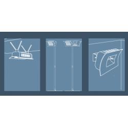 LAMPADA INFRAROSSI RISCALDANTE soffitto parete - Klimago
