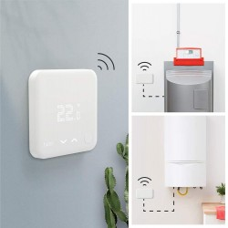 Termostato Intelligente Wireless V3+ funzione - Klimago
