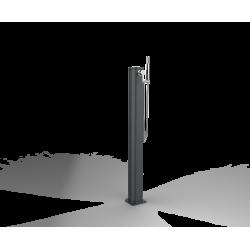 Fontana In Alluminio Con Doccetta nera - Klimago